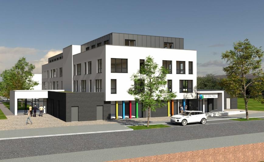 BIHOREL - Les Hauts Grigneux - 1ère phase: Ecole Montessori et Bureaux