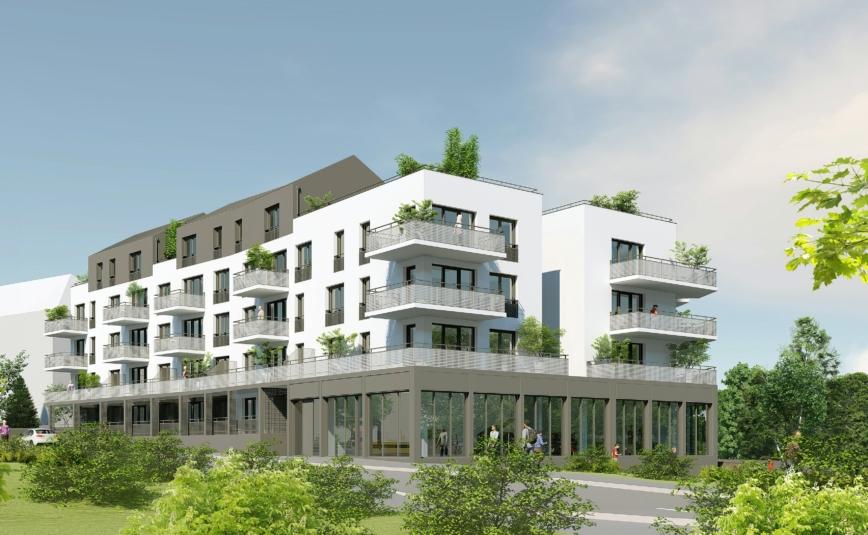 SO'HO 171 - S'intégrer dans le quartier résidentiel de la Vallée des Jardins, et apporter le commerce de proximité manquant